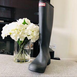 Hunter tour packable waterproof rain boots